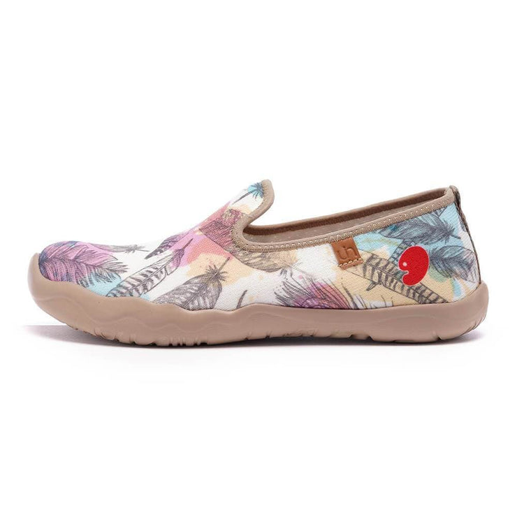 UIN Footwear Women Wave of Summer Canvas loafers