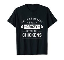 Laden Sie das Bild in den Galerie-Viewer, Funny shirts V-neck Tank top Hoodie sweatshirt usa uk au ca gifts for Crazy Chicken Lady - Funny Chickens Farmer Gift T-Shirt 1245808