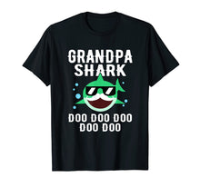 Laden Sie das Bild in den Galerie-Viewer, Funny shirts V-neck Tank top Hoodie sweatshirt usa uk au ca gifts for Grandpa Shark Doo Doo Doo Family Shirt Cute Funny Gifts 1152303