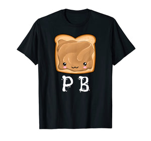 Funny shirts V-neck Tank top Hoodie sweatshirt usa uk au ca gifts for Kawaii PB&J Peanut Butter & Jelly Halloween Matching Tshirt 1034833