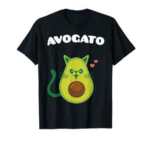 Laden Sie das Bild in den Galerie-Viewer, Funny shirts V-neck Tank top Hoodie sweatshirt usa uk au ca gifts for Avogato T-Shirt Funny Cinco De Mayo Cat And Avocado Gift 1365952