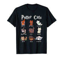 Laden Sie das Bild in den Galerie-Viewer, Potter Cats Cute Harry Pawter Kitten T-Shirt