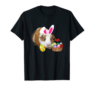 Funny shirts V-neck Tank top Hoodie sweatshirt usa uk au ca gifts for Easter Shirt Guinea Pig Funny Bunny Ears & Eggs Gift 2080994