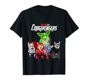 Funny shirts V-neck Tank top Hoodie sweatshirt usa uk au ca gifts for Corgivengers TShirt- Corgi Dog Mother's day Gift T-Shirt 1089007