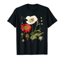 Laden Sie das Bild in den Galerie-Viewer, Funny shirts V-neck Tank top Hoodie sweatshirt usa uk au ca gifts for Red Poppy Botanical T-Shirt 1061469