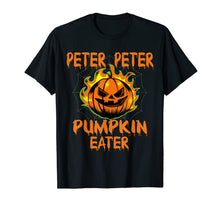 Laden Sie das Bild in den Galerie-Viewer, Peter Peter Pumpkin Eater Couples Halloween Costume T-Shirt