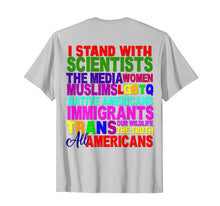 Laden Sie das Bild in den Galerie-Viewer, Funny shirts V-neck Tank top Hoodie sweatshirt usa uk au ca gifts for I Stand With Shirt Persist Resist Protest March America USA 1319997