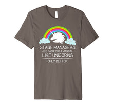 Laden Sie das Bild in den Galerie-Viewer, Funny shirts V-neck Tank top Hoodie sweatshirt usa uk au ca gifts for Stage Manager Shirt for Women Men & Assistant SM Unicorn 2063196