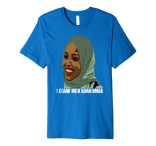 Laden Sie das Bild in den Galerie-Viewer, Funny shirts V-neck Tank top Hoodie sweatshirt usa uk au ca gifts for I Stand With Congresswoman Ilhan Omar T Shirt 2265388