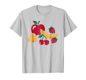 Funny shirts V-neck Tank top Hoodie sweatshirt usa uk au ca gifts for Fruits with apple, banana, cherry and strawberries T-Shirt 2227652