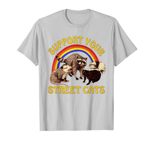 Support Your Local Street Cats Gifts Shirts