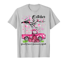 Laden Sie das Bild in den Galerie-Viewer, Pumpkin Pink Truck Breast Cancer Awareness Month October T-Shirt