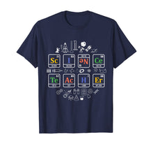 Laden Sie das Bild in den Galerie-Viewer, science teacher periodic table chemistry elements gift T-Shirt