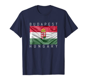 Funny shirts V-neck Tank top Hoodie sweatshirt usa uk au ca gifts for Budapest T-Shirt Flag of Hungary with Coat of Arms Souvenir 2693916