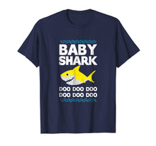 Laden Sie das Bild in den Galerie-Viewer, Funny shirts V-neck Tank top Hoodie sweatshirt usa uk au ca gifts for Baby Shark Doo Doo T-Shirt Mommy Daddy Brother Kid Tee 1260766