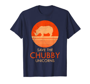 Funny shirts V-neck Tank top Hoodie sweatshirt usa uk au ca gifts for Vintage Retro Save The Chubby Unicorns T Shirt 1429842
