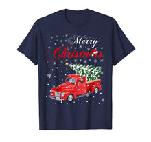 Laden Sie das Bild in den Galerie-Viewer, Funny shirts V-neck Tank top Hoodie sweatshirt usa uk au ca gifts for Red Truck Merry Christmas Tree Vintage Red Pickup Truck Tee 1334011