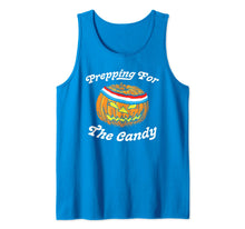Laden Sie das Bild in den Galerie-Viewer, Prepping for the Candy! Funny Pumpkin Halloween Sweatband  Tank Top