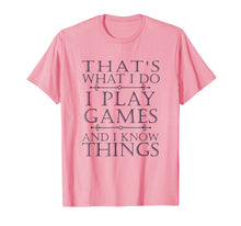 Laden Sie das Bild in den Galerie-Viewer, That's What I Do Game T-Shirt Funny Video Games Gift Top Tee