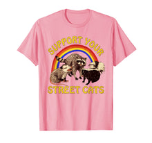 Laden Sie das Bild in den Galerie-Viewer, Support Your Local Street Cats Gifts Shirts