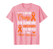 Laden Sie das Bild in den Galerie-Viewer, Orange For Someone Who Means World To Me - Pitbull Awareness T-Shirt