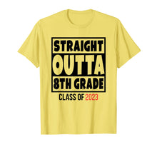 Laden Sie das Bild in den Galerie-Viewer, Straight Outta 8th Grade Class of 2023 Shirt Graduation
