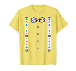 Funny shirts V-neck Tank top Hoodie sweatshirt usa uk au ca gifts for Easter Jelly Beans Bow Tie & Suspenders T-Shirt 1702954