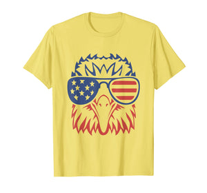 Patriotic Eagle T-Shirt 4th of July USA American Flag Tshirt