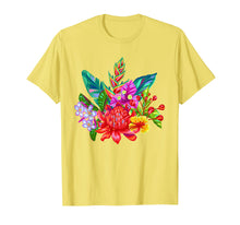 Laden Sie das Bild in den Galerie-Viewer, Funny shirts V-neck Tank top Hoodie sweatshirt usa uk au ca gifts for Tropical Flowers T Shirt, Vibrant Floral Garden Colors 1535562
