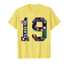 Laden Sie das Bild in den Galerie-Viewer, Senior Class of 2019 floral Graduation t Shirts for women