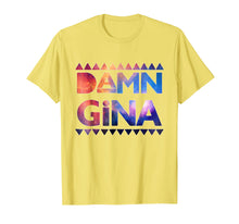 Laden Sie das Bild in den Galerie-Viewer, Funny shirts V-neck Tank top Hoodie sweatshirt usa uk au ca gifts for Damn Gina Shirt 90s Style Hip Hop Saying Deep Space Design 1212768