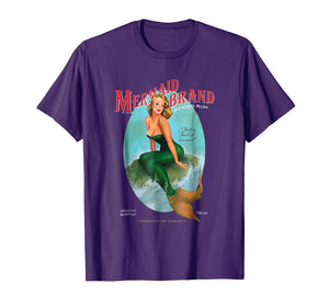 Funny shirts V-neck Tank top Hoodie sweatshirt usa uk au ca gifts for Mermaid Brand T-shirt Jamaican Rum with a hint of Seaweed 1020443