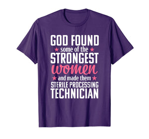 Sterile Processing Technician Funny Women Medical Gift T-Shirt