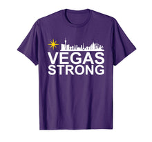 Laden Sie das Bild in den Galerie-Viewer, Vegas Strong Tshirt for Men, Women and Youth T-Shirt
