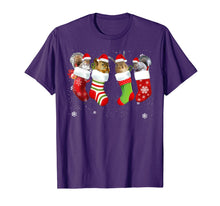 Laden Sie das Bild in den Galerie-Viewer, Squirrel In Socks Funny Santa Squirrel Christmas Gift T-Shirt