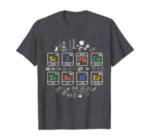 science teacher periodic table chemistry elements gift T-Shirt