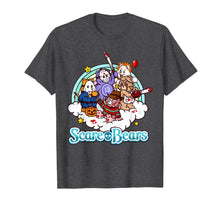 Laden Sie das Bild in den Galerie-Viewer, Scare Bears Funny Halloween Scary Horror Pumpkin T-Shirt