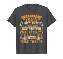 Laden Sie das Bild in den Galerie-Viewer, October 1965 Vintage Shirt 54th Birthday Gifts 54th Bday T-Shirt