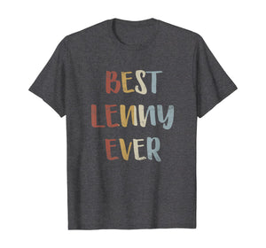 Mens Best Lenny Ever Retro Vintage First Name Gift T-Shirt B08F1JWVM6 535962