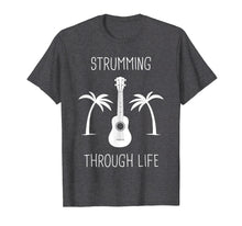 Laden Sie das Bild in den Galerie-Viewer, Strumming Through Life | Chill Ukulele T-Shirt