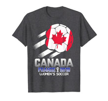 Laden Sie das Bild in den Galerie-Viewer, Funny shirts V-neck Tank top Hoodie sweatshirt usa uk au ca gifts for Women Canada Soccer Team Tee | France 2019 World Tournament 1646444