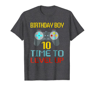 Funny shirts V-neck Tank top Hoodie sweatshirt usa uk au ca gifts for 10th Birthday Boy Shirt Video Game Gamer Boys Kids Gift 2511564