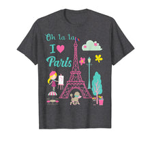Laden Sie das Bild in den Galerie-Viewer, Funny shirts V-neck Tank top Hoodie sweatshirt usa uk au ca gifts for Oh la la  I love Paris Eiffel tower French traditions Shirt  T-Shirt 1192356