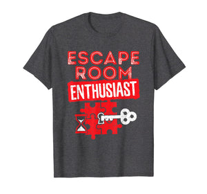 Funny shirts V-neck Tank top Hoodie sweatshirt usa uk au ca gifts for Escape Room T Shirt - Escape Room Enthusiast 2761501