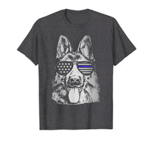 Laden Sie das Bild in den Galerie-Viewer, Funny shirts V-neck Tank top Hoodie sweatshirt usa uk au ca gifts for K9 Police Officer Shirt Police Dog Thin Blue Line Gift 257829