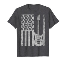 Laden Sie das Bild in den Galerie-Viewer, Funny shirts V-neck Tank top Hoodie sweatshirt usa uk au ca gifts for Vintage Electric Bass Guitar USA American Flag T-shirt Gift 2080069