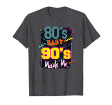 Laden Sie das Bild in den Galerie-Viewer, Retro 80s Baby 90s Made Me Graphic Shirt