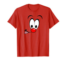 Laden Sie das Bild in den Galerie-Viewer, Relief Red Nose Celebration Top Tee Outfit gift idea