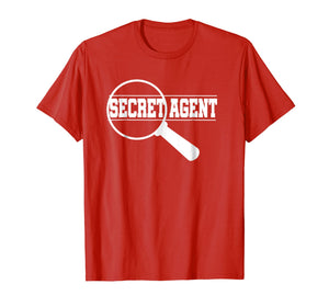 Secret Agent Inspector Spy Costume T-Shirt Adults & Toddlers