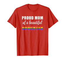 Laden Sie das Bild in den Galerie-Viewer, Pride Ally T Shirt | Proud Mom LGBT Daughter Tee
